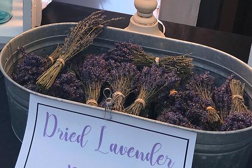 Dried Lavender Bundles - Small