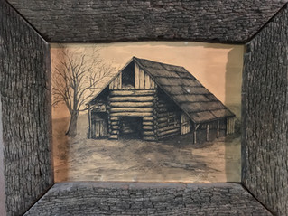What came before the Stone House?  An Old Barn.