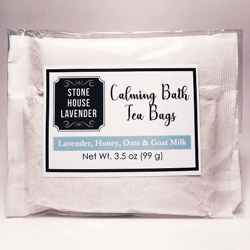 Bath Tea Bags, 2 bags, 3 oz each