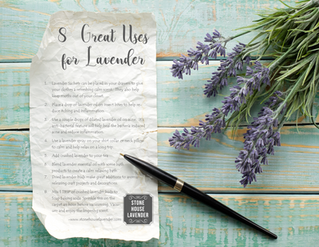 More Uses of Lavender