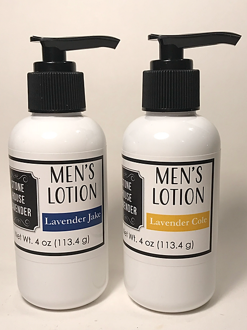 Men's Lotion 4 oz