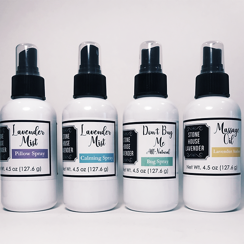 Lavender Spray Sampler Set