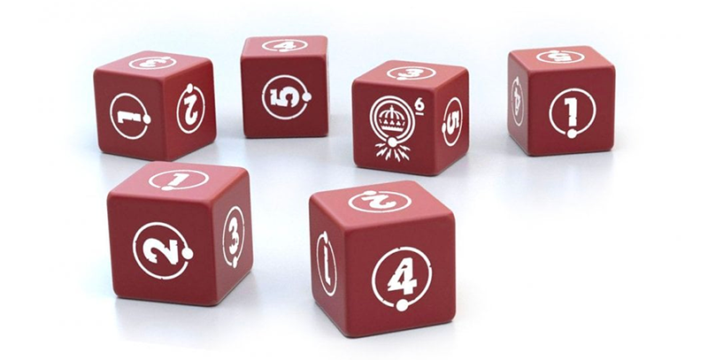 Things from the flood - Dice set