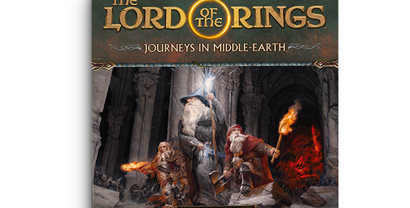 Shadowed Paths: The Lord of the Rings: Journeys in Middle-Earth Board Game Expan