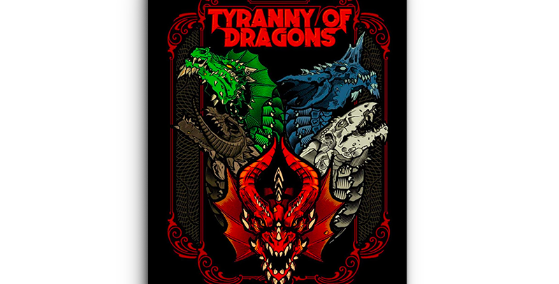 Dungeons & Dragons - Tyranny of Dragons (alt cover)