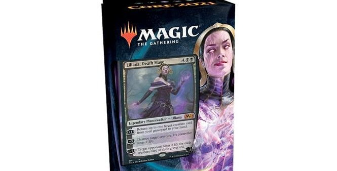 MTG Core Set 2021 Planeswalker Deck Lilliana