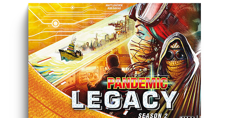 Pandemic Legacy - Season 2 (yellow)