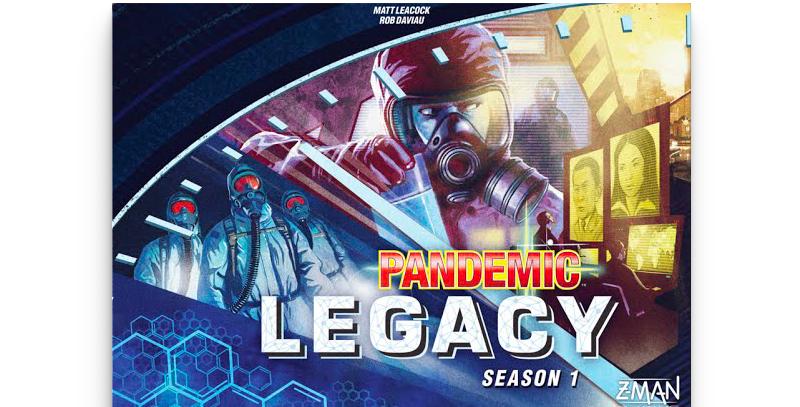 Pandemic Legacy - Season 1 (Blue)