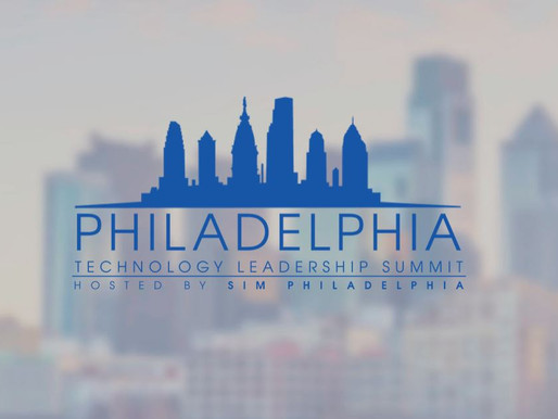 A Limited Amount of Sponsorship Opportunities Are Still Available For The SIM Philadelphia Technolog