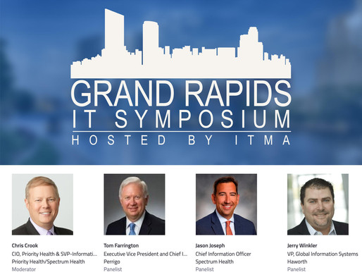 The Highly Anticipated Grand Rapids IT Symposium Will Host 250 Local IT Executives On May 15th