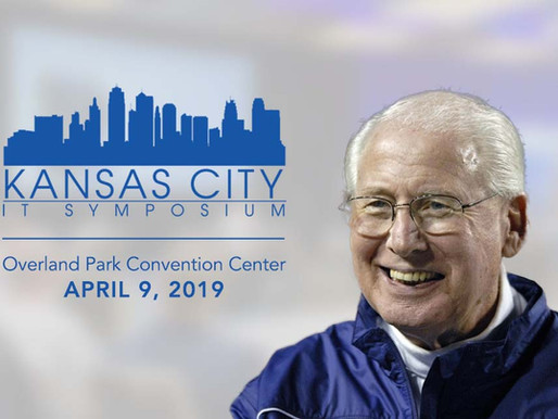 Bill Snyder Joins Kansas City IT Symposium as Closing Keynote Speaker on April 9, 2019