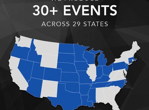EFM Events Hits The $3.2 Million Mark In Charitable Donations To Cities They Produce Events In Since