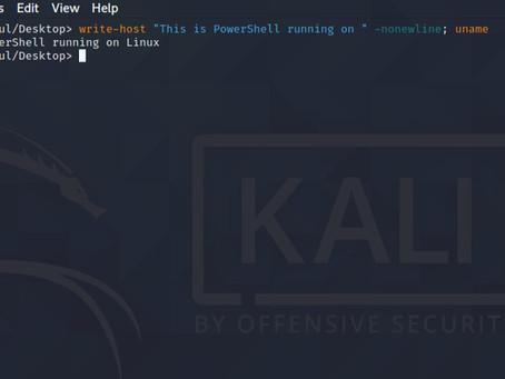 Running PowerShell on Linux
