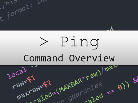 The Ping Command