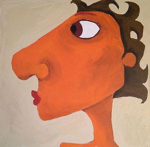 Willi, man, illustration, art