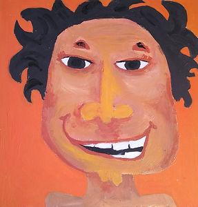 Bob, art, illustration, smile, happy,