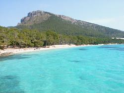 2. Playa Formentor- Pollenca bay -