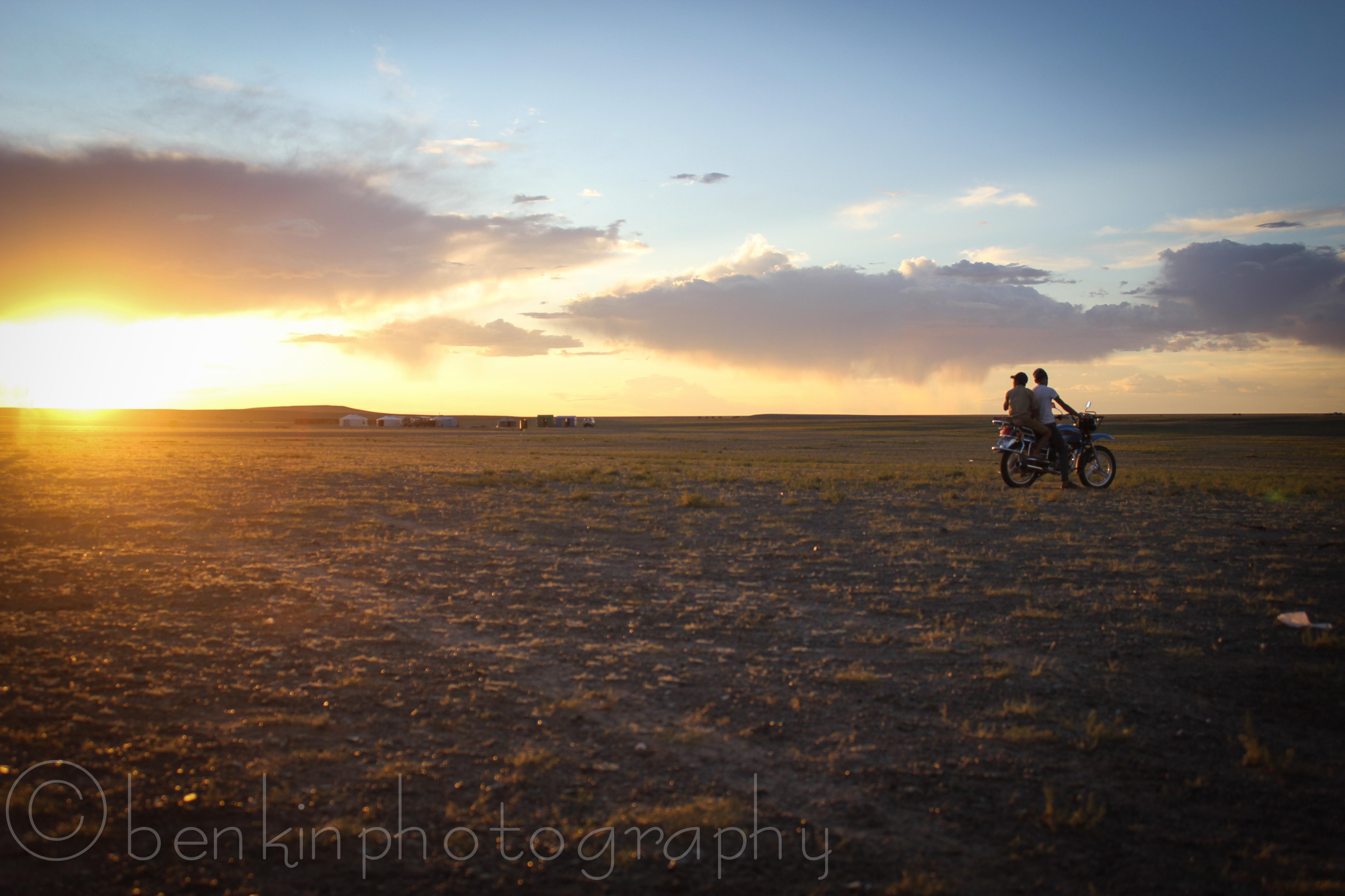 Mongolian Sunset
