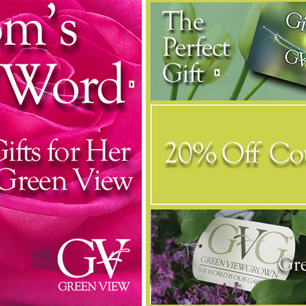 Evite for Mother's Day Event for Green View Companies