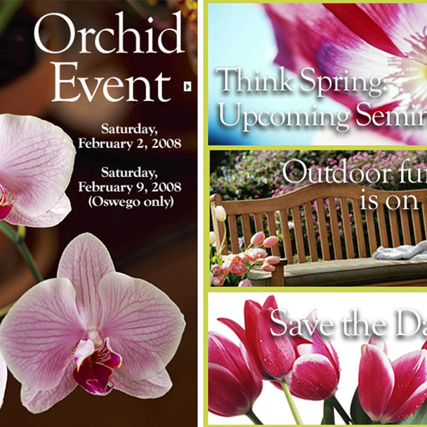 Evite for Orchid Event for Green View Companies