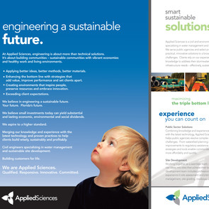 Brochure for Applied Sciences