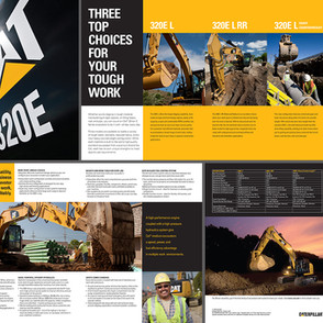 320E Brochure for Caterpillar