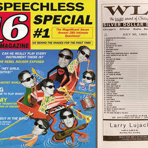 """Magazine Parody Promotion for a band named """"Speechless"""""""