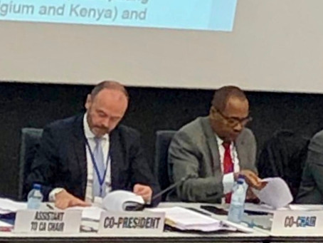#Belgium and #Kenya closed UPU committee 2 (policies and regulations) works successfully today !