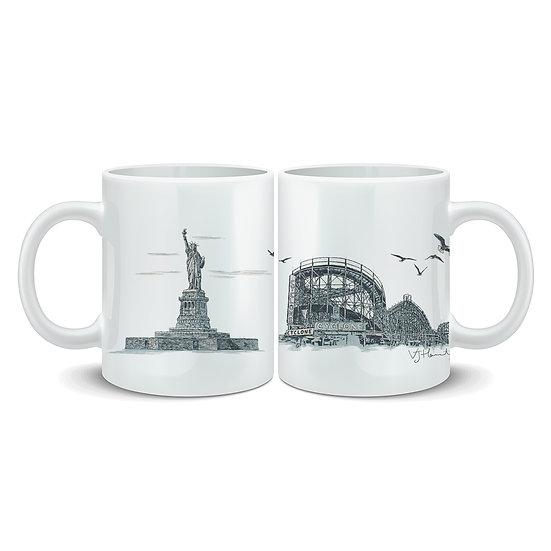 New York City Hand Crafted Mug