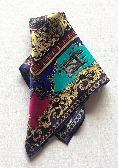 Toon Handmade Silk Scarf 62 x62 cm Multi