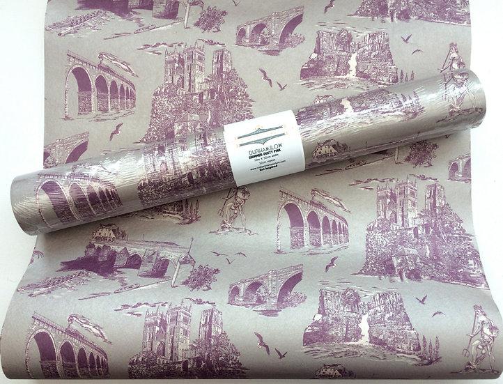 Durham Heritage-Dusty Rose-Shimmer Wallpaper