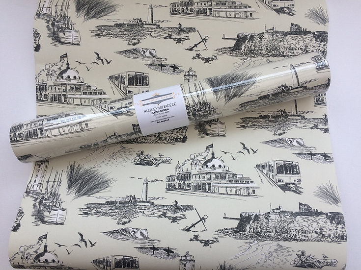 Whitley Bay Breeze - Natural-Classic- Wallpaper