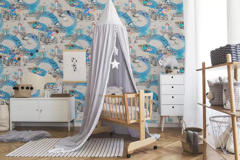 Fairytale Dreams Baby Wallpaper
