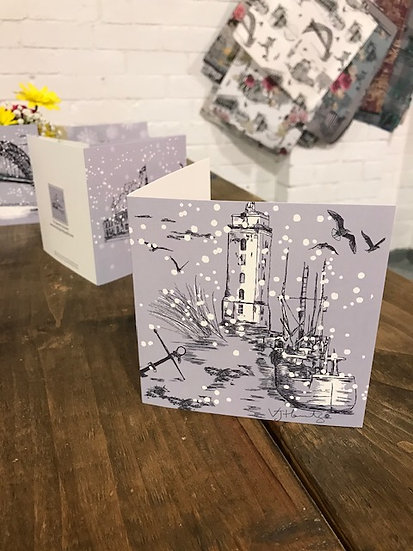 Low Lights Christmas card
