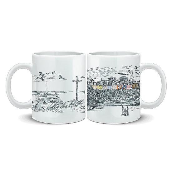 Alnmouth Hand Crafted Mug