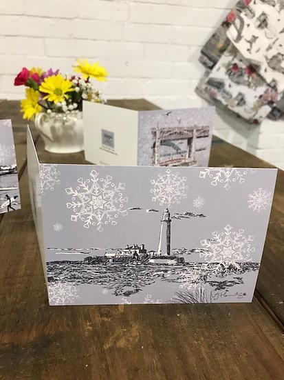 St Marys Island Christmas card