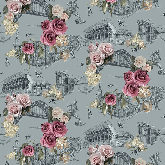 Bloom on The Tyne - Classic Wallpaper