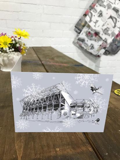 St James Park Christmas card