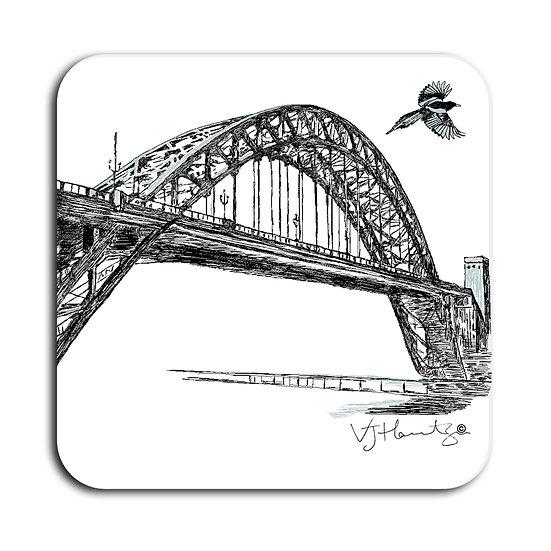 Tyne Bridge Hand Crafted Coaster