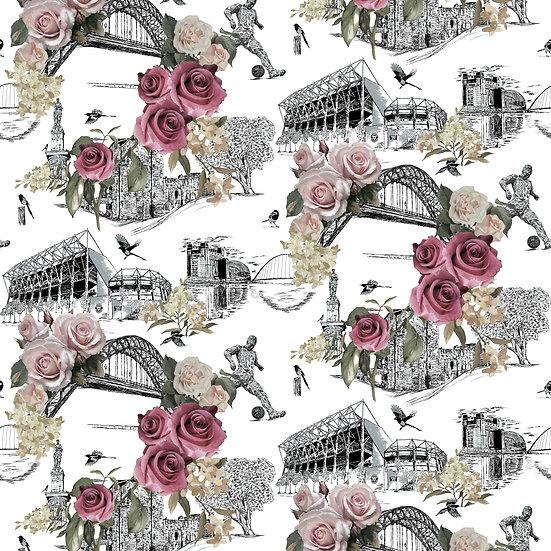 Bloom on The Tyne - Shimmer Wallpaper