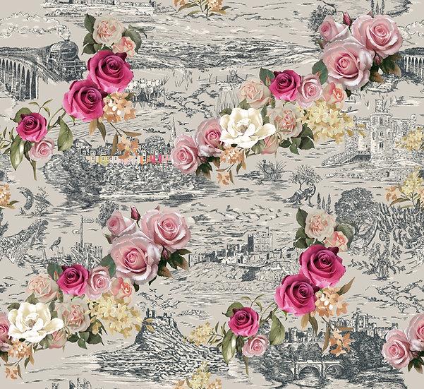 Beauty in The Hills- Magnolia Classic Wallpaper