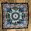 Thumbnail: COASTAL PRINT Handmade Silk Scarf 62 x 62 cm NAVY