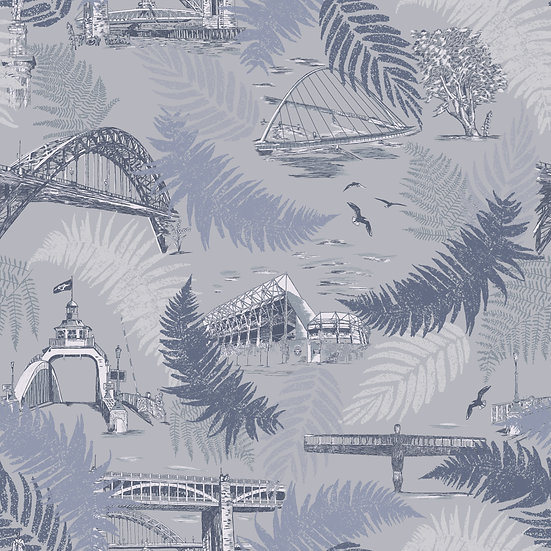 Spirit of the Tyne-Metallic-Classic wallpaper