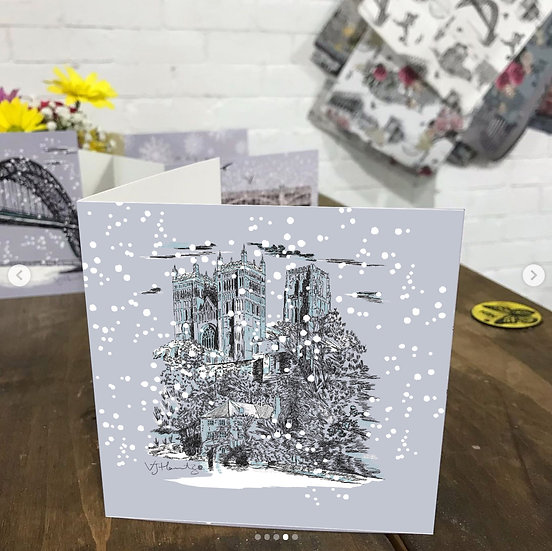 Durham Christmas card
