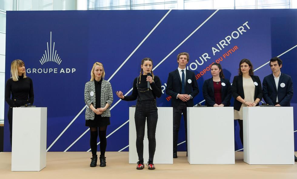 Présentation du projet au Jury ADP