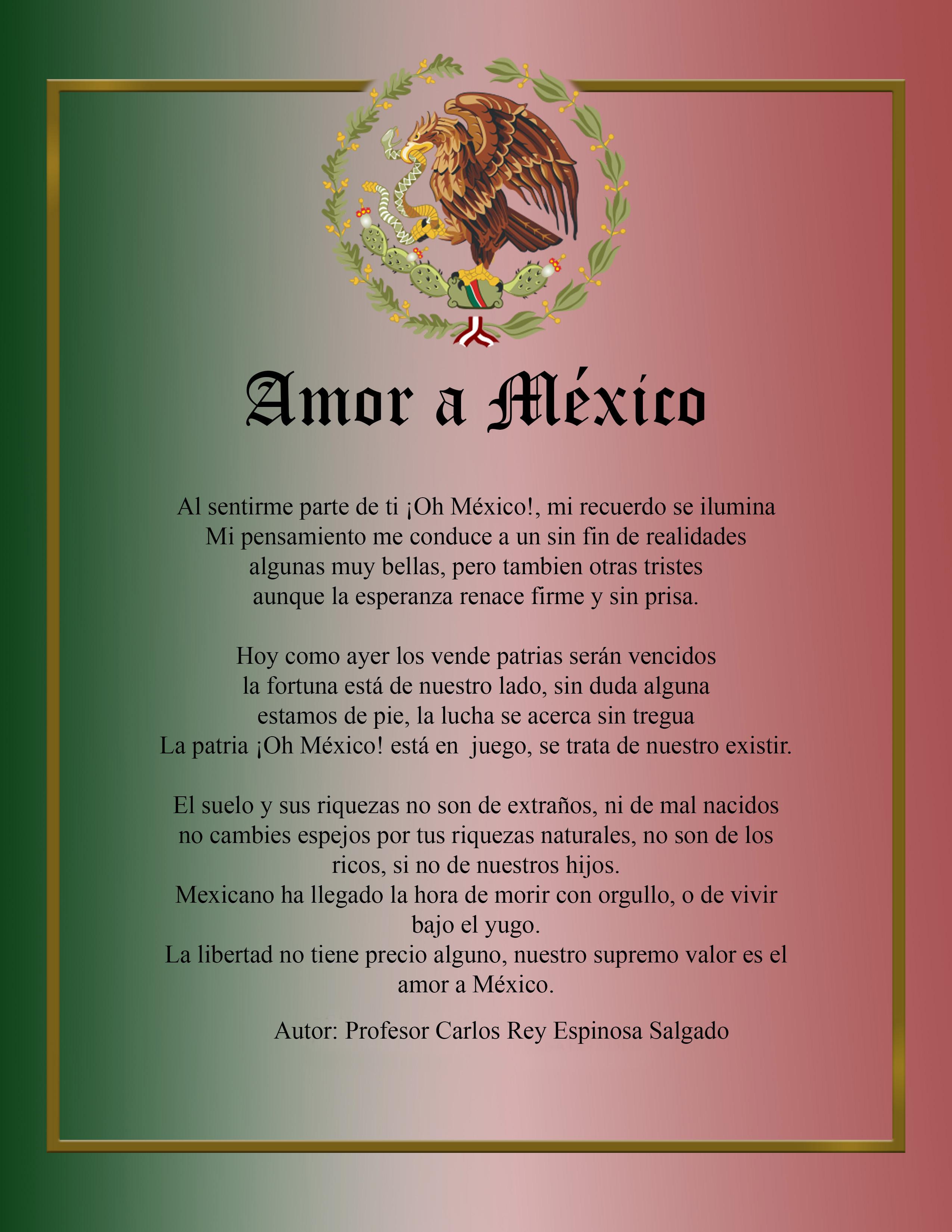 AMOR A MÉXICO