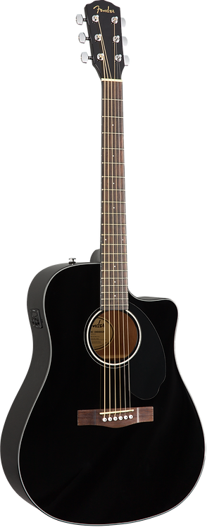 FENDER ACOUSTIC ELECTRIC CD60SCEBLK