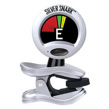 SNARK SILVER CLIP-ON CHROMATIC ALL INSTRUMENT TUNER