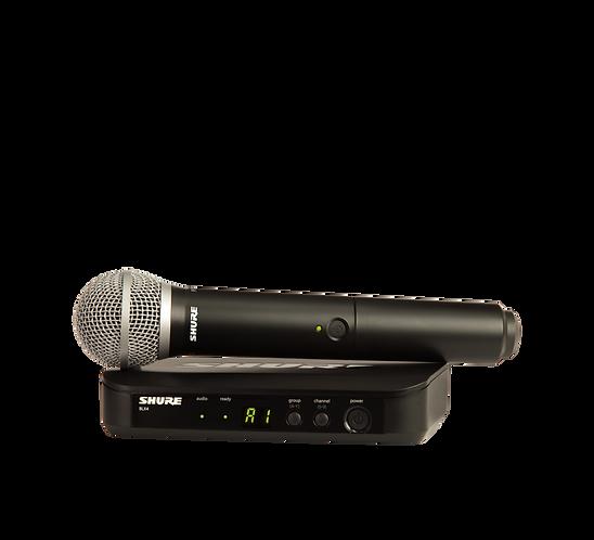 Shure BLX24/PG58 Wireless Handheld System (M17: 662-686MHz)