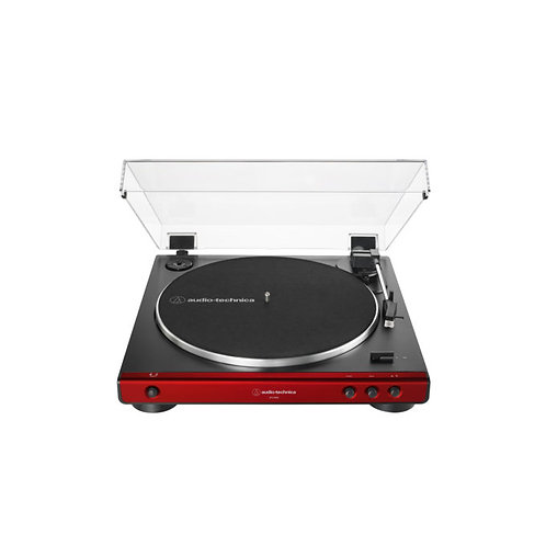 AUDIO TECHNICA TURNTABLE AT-LP60X-RD